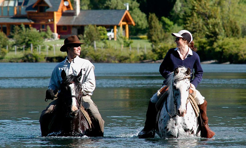 Kayak + Horse Back Riding